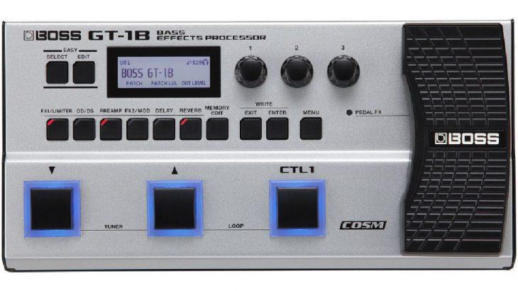 BOSS ボス / GT-1B Bass Effects Processor【ベース用マルチエフェクター】