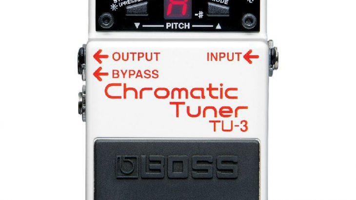 BOSS ボス / TU-3 CHROMATIC TUNER 【チューナー】