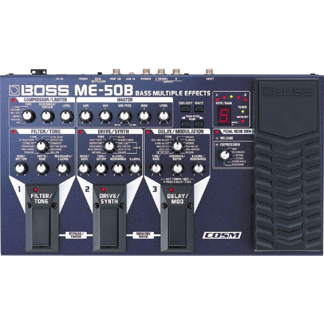 BOSS ボス / ME-50B Bass Multiple Effects 【ベース用マルチエフェクター】