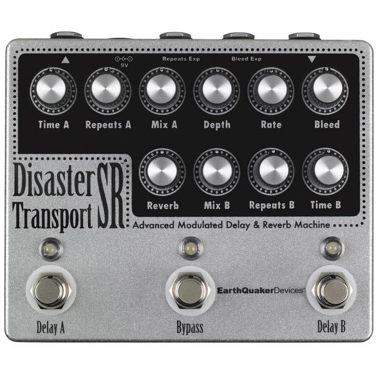 EarthQuaker Devices アースクエイカーデバイセス / Disaster Transport SR ディザスタートランスポートSR【モジュレーションディレイ&リバーブ】