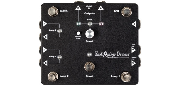 EarthQuaker Devices アースクエイカーデバイセス / Swiss Things スイス・シングス【エフェクトループスイッチャー】