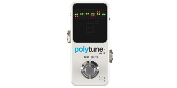 tc electronic ティーシーエレクトロニック / POLYTUNE 3 Mini【ポリフォニック・チューナー】