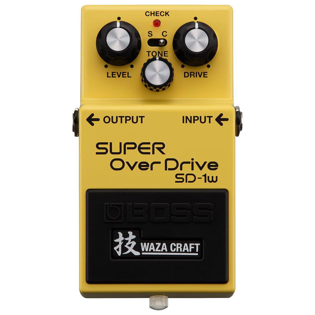 BOSS ボス / SD-1W SUPER OverDrive 技 WAZA CRAFT 【オーバードライブ】