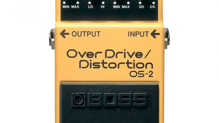 BOSS ボス / OS-2 OverDrive/Distortion 【ディストーション】