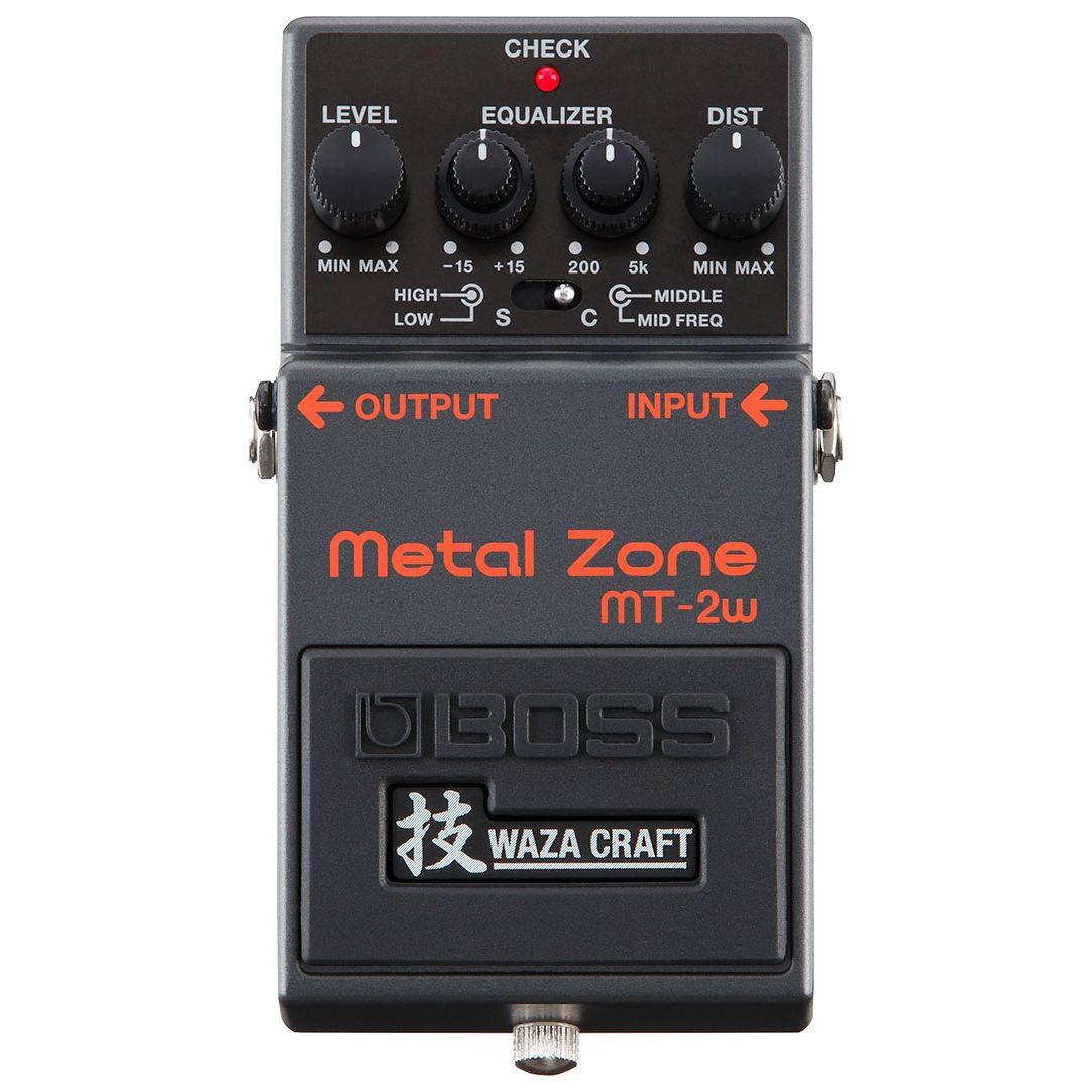 BOSS ボス / MT-2W Metal Zone 技 WAZA CRAFT【ディストーション】