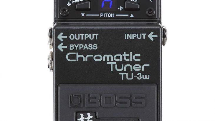 BOSS ボス / TU-3W Chromatic Tuner 技 WAZA CRAFT【チューナー】