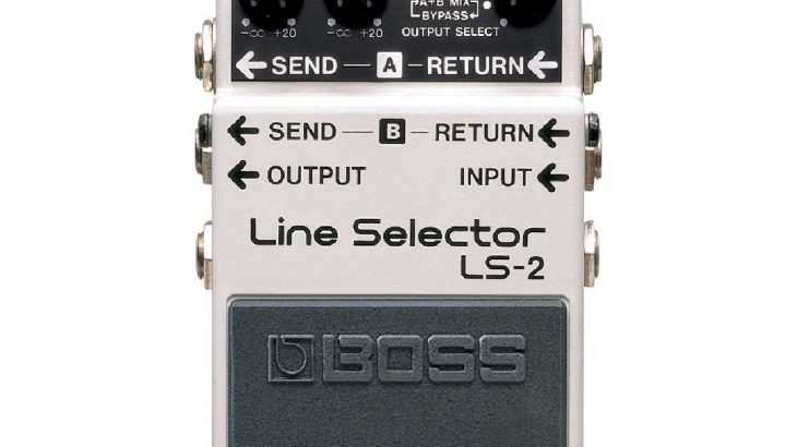 BOSS ボス / LS-2 Line Selector【ラインセレクター】