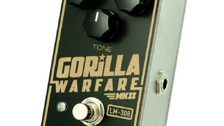 Greer Amps グリアー・アンプス / Gorilla Warfare MKII【ディストーション】