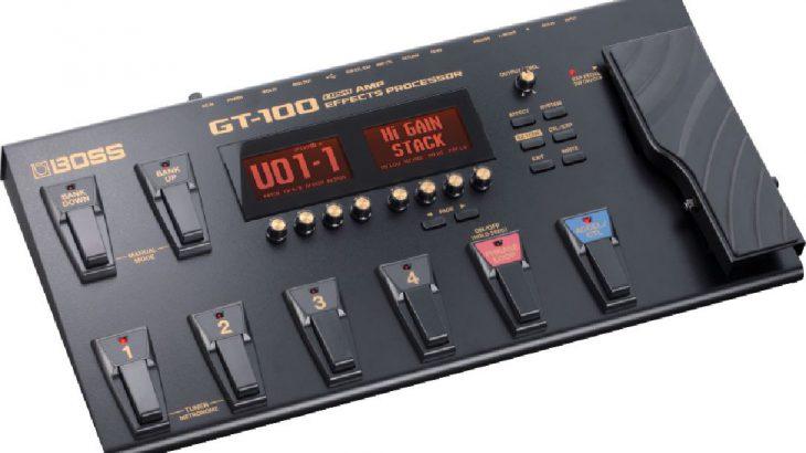 BOSS ボス / GT-100 COSM Amp Effects Processor 【ギター用マルチエフェクター】