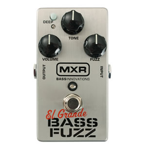 MXR エムエックスアール M-182 El Grand / bass fuzz【ベース用エフェクター】