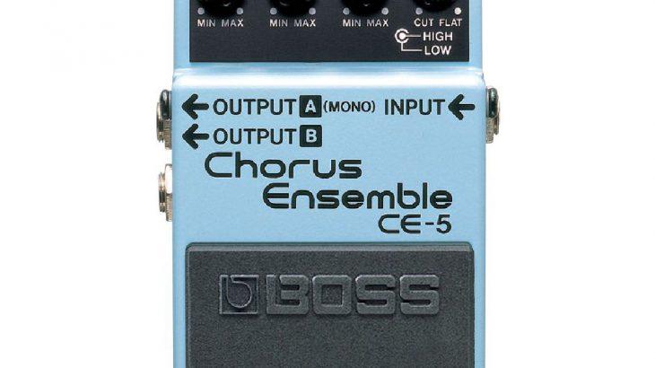 BOSS ボス / CE-5 Chorus Ensemble【コーラス】
