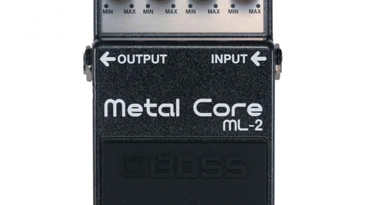 BOSS ボス / ML-2 Metal Core 【ディストーション】