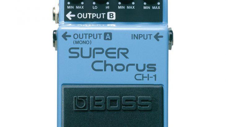 BOSS ボス / CH-1 SUPER Chorus【コーラス】