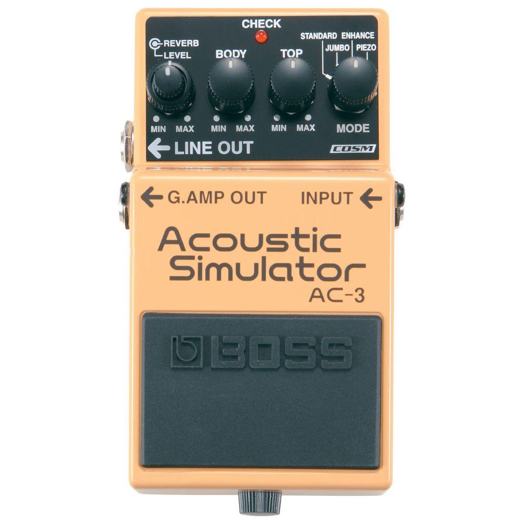 BOSS ボス / AC-3 Acoustic Simulator 【アコースティックギター用エフェクター】