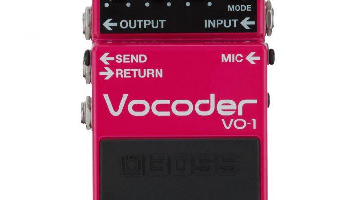 BOSS ボス / VO-1 Vocoder 【ボコーダー】