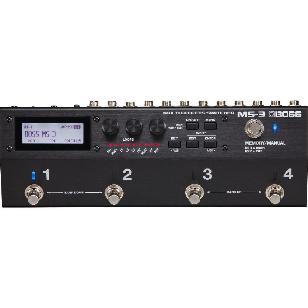 BOSS ボス / MS-3 Multi Effects Switcher【スイッチングシステム】