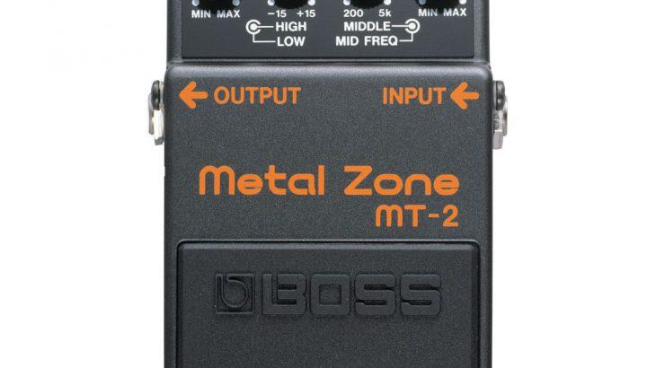 BOSS ボス / MT-2 Metal Zone 【ディストーション】