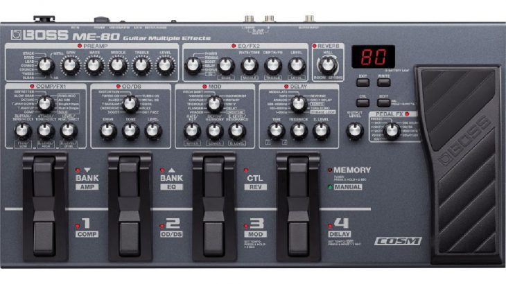 BOSS ボス / ME-80 Guitar Multiple Effects 【ギター用マルチエフェクター】