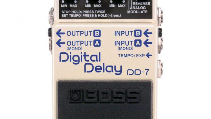 BOSS ボス / DD-7 Digital Delay 【ディレイ】