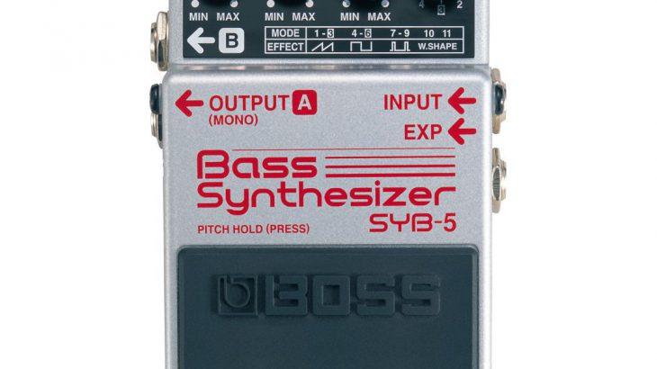 BOSS ボス / SYB-5 Bass Synthesizer【ベース用シンセサイザー】