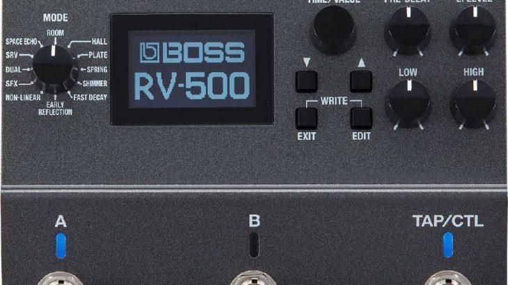 BOSS ボス / RV-500 Reverb【リバーブ】