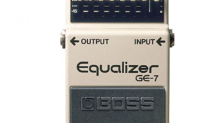 BOSS ボス / GE-7 Equalizer【イコライザー】