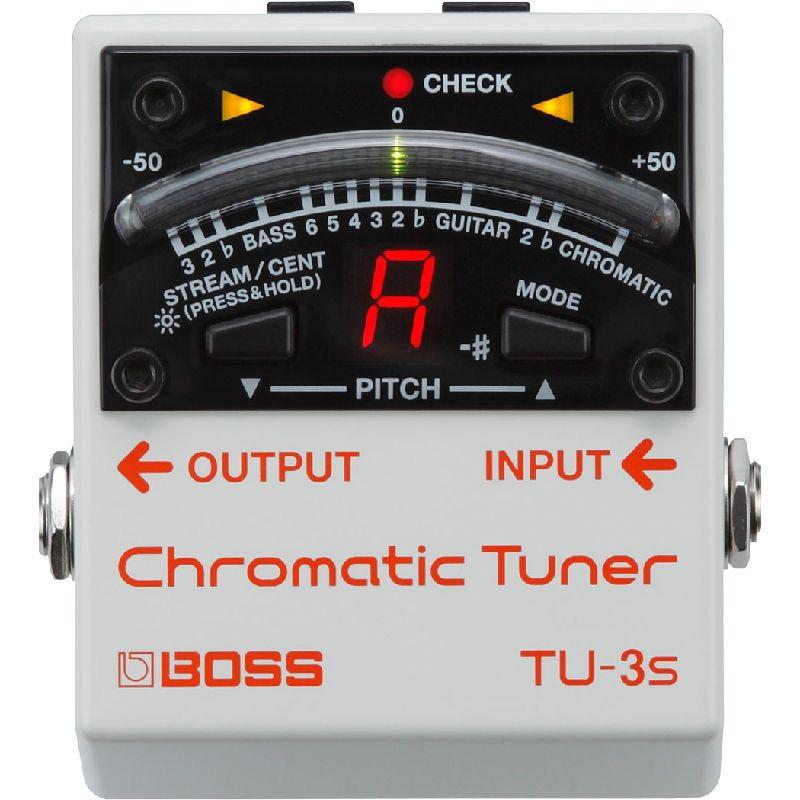 BOSS ボス / TU-3S Chromatic Tuner 【チューナー】