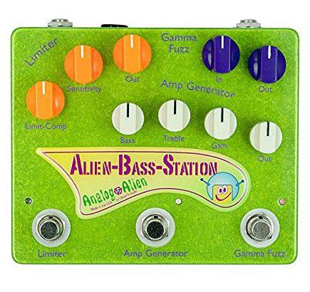 Analog Alien アナログエイリアン / Alien Bass Station【ベース用マルチエフェクター】