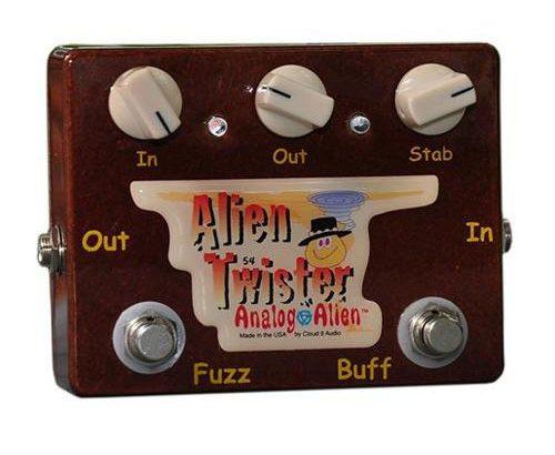 Analog Alien アナログエイリアン / Alien Twister【ファズ】【バッファー】