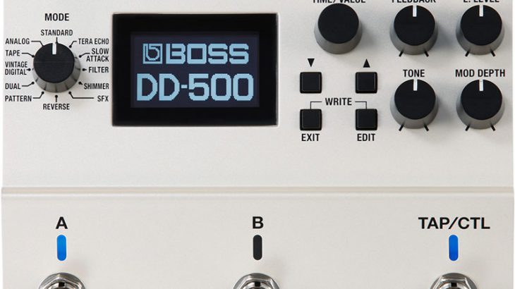 BOSS ボス / DD-500 Digital Delay 【ディレイ】
