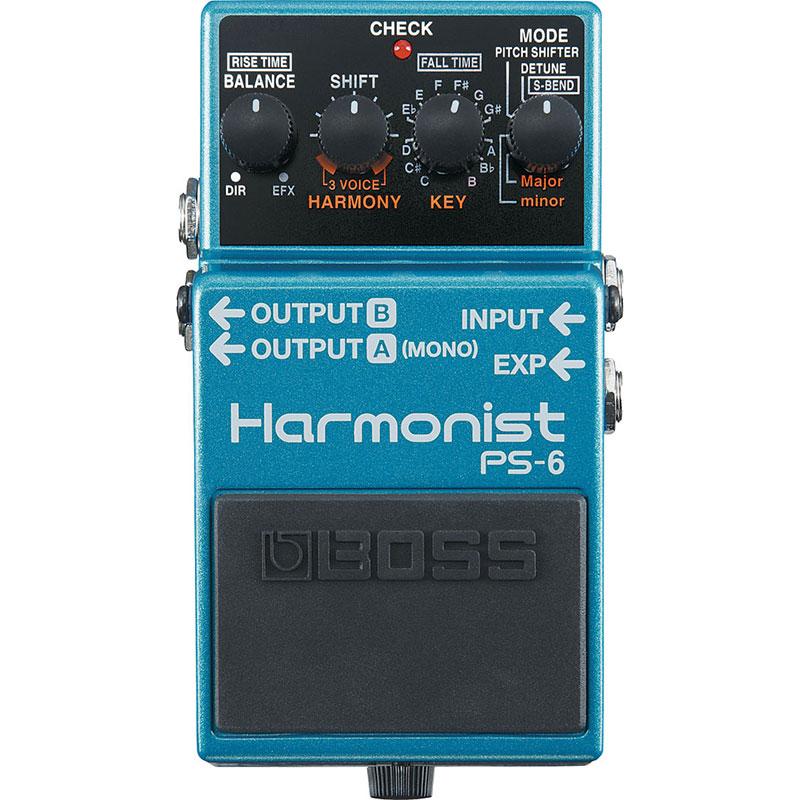 BOSS ボス / PS-6 Harmonist【ピッチシフター】