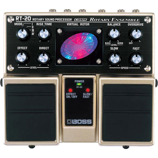 "BOSS ボス / RT-20 Rotary Sound Processor ""ROTARY ENSEMBLE ""【シミュレーター系エフェクター】"