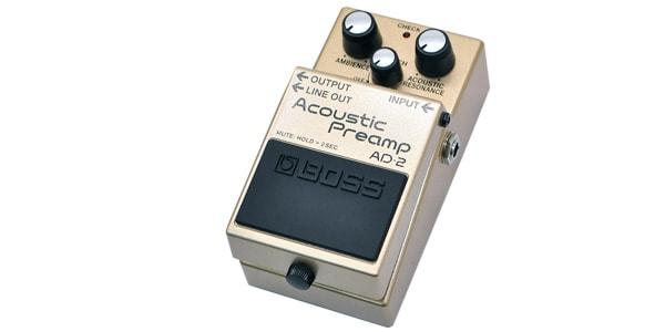 BOSS ボス / AD-2 Acoustic Preamp 【アコースティックギター用エフェクター】
