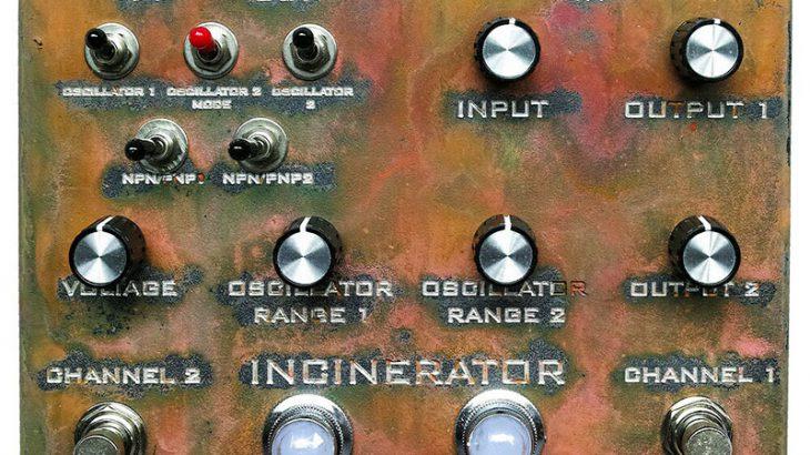 Industrialectric インダストリアレクトリック / INCINERATOR インシネレーター【ファズ】【デュアルオシレーター】