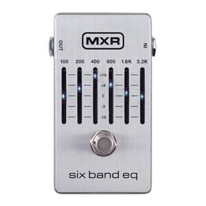 MXR エムエックスアール / M109S Six Band Graphic EQ【グラフィックイコライザー】