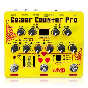 WMD ダブリューエムディー / Geiger Counter Pro ガイガーカウンタープロ【ノイズ系エフェクター】