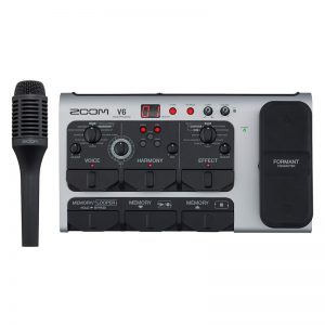 ZOOM ズーム / V6 All-in-One Vocal Processor【ボーカル専用プロセッサー】