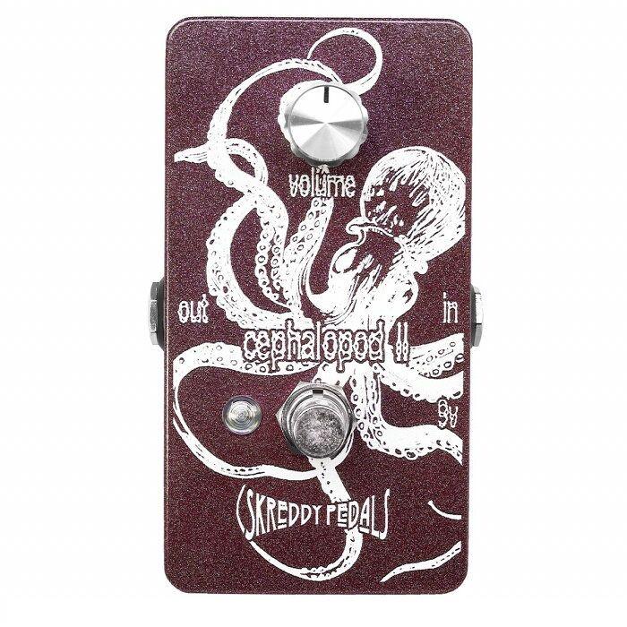 Skreddy Pedals スクレディペダルズ / Cephalopod II セファロポッド ツー【オクターブファズ】