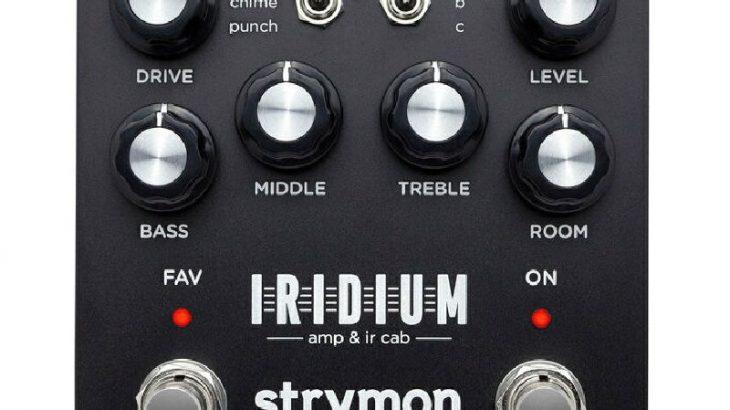 strymon ストライモン / Iridium イリジウム【アンプシュミレーター】