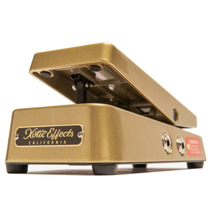 Xotic エキゾチック / XVP-250K Gold Case High Impedance Volume Pedal【ハイインピーダンス ボリュームペダル】