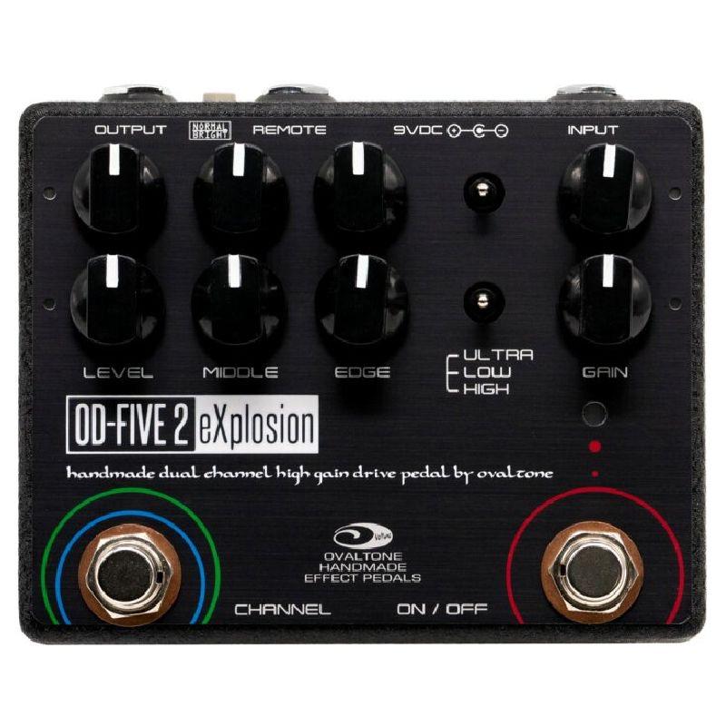 Ovaltone オーバルトーン / OD-FIVE 2 eXplosion【オーバードライブ】【ディストーション】