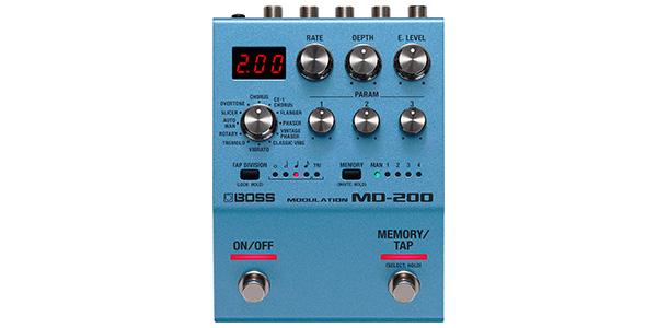 BOSS ボス / MD-200 Modulation【モジュレーション系マルチエフェクター】【BOSS 200シリーズ】
