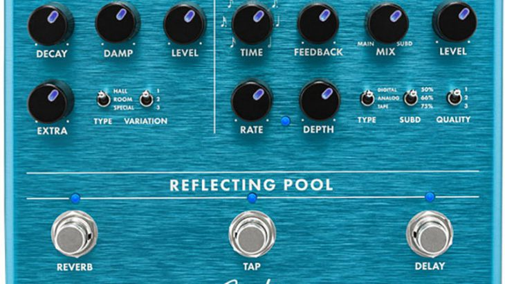 FENDER フェンダー / Reflecting Pool Delay Reverb【ディレイ&リヴァーブ】