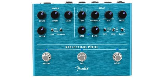 FENDER フェンダー / Reflecting Pool Delay Reverb【ディレイ&リヴァーブ】