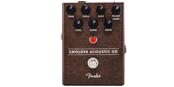 FENDER フェンダー / Smolder Acoustic Overdrive【アコースティック専用オーバードライブ】