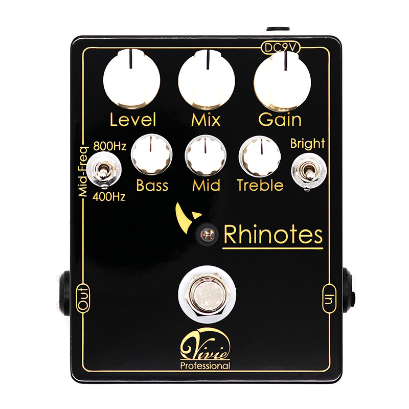 Vivie ビビー / Rhinotes Bass OverDrive【ベース用オーバードライブ】