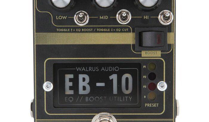Walrus Audio ウォルラスオーディオ / EB-10【プリアンプ】【イコライザー】【ブースター】