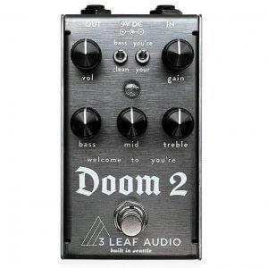 3Leaf Audio スリーリーフ オーディオ / Doom2 ドゥームツー【ファズ】【ベース エフェクター】