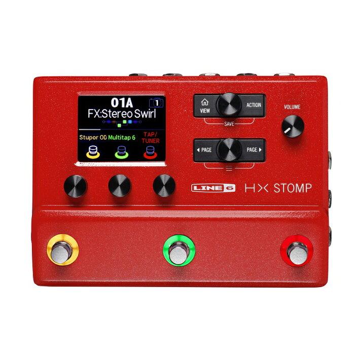LINE6 ラインシックス / HX Stomp Red 限定色 レッド 赤 【ギター プロセッサー】