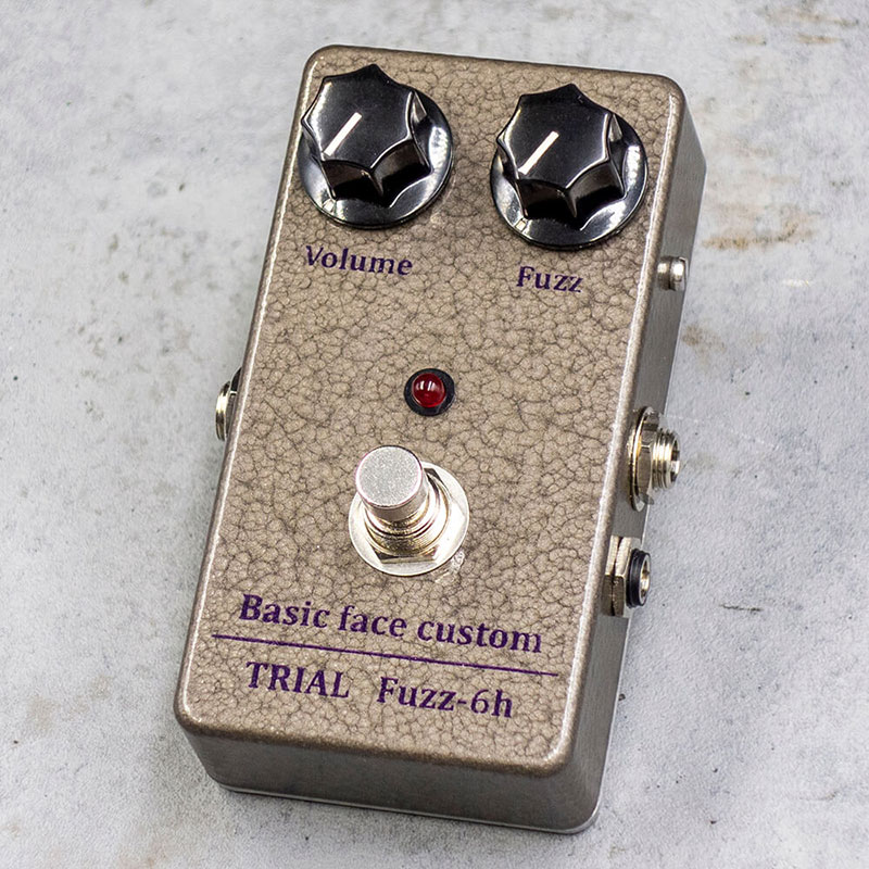 TRIAL トライアル / Fuzz-6h Basic face custom【ファズ】